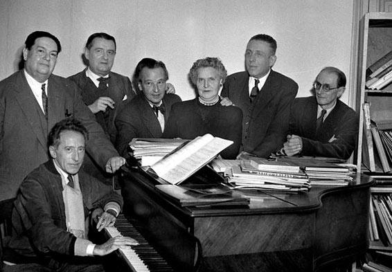 Quelques compositrices et musiciennes à découvrir Les_six_b