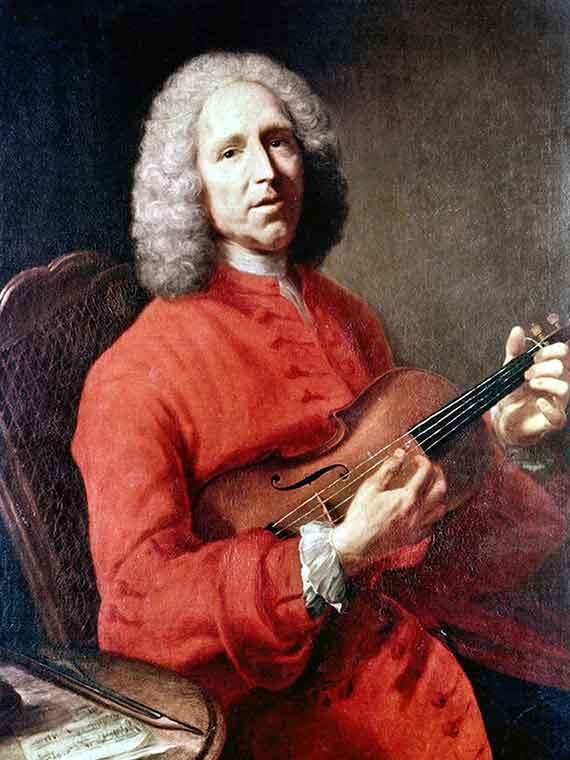 Jean-Philippe Rameau : six concerts transcrits en sextuors
