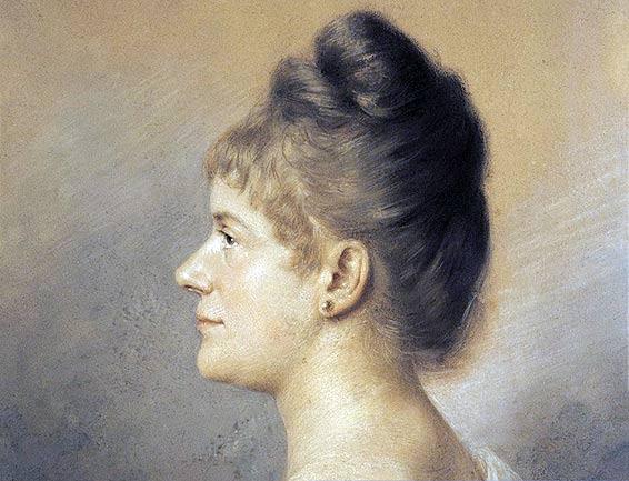 Ahna on Pauline De Ahna 1863 1850