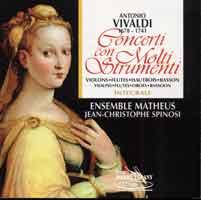 antonio vivaldi concerti con molti strumenti violons fltes hautbois basson - Antonio Vivaldi Lebenslauf