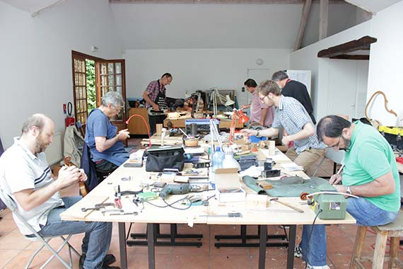 Luthiers à Giverny