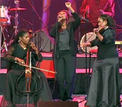 Akua Dixon, Liz McComb, Regina Carter, Jazz à Vienne, 27 juin 2010
